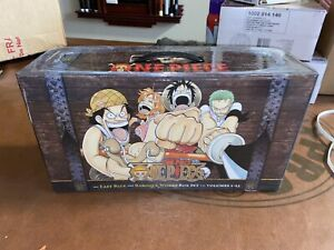 One Piece Book Box Set: East Blue and Baroque Works (Volumes 1-23 with premium)