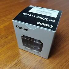 Canon EF 28mm f/1.8 USM Lens BLACK (EF2818U)