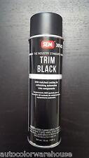 SEM Trim Fast Black Aerosol Paint 39143