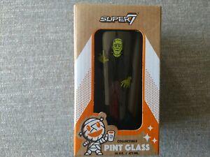Frankenstein collectible Pint glass Universal Monsters Super 7