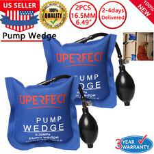 2x Cheap Inflatable Air Bag Tool Automotive Wedge Pump Up Clamp Shim Fr Car Door