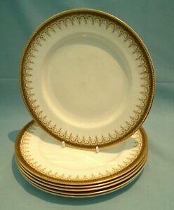 6 x PARAGON + ROYAL ALBERT ATHENA - Salad Plates 20cm USED / VGC