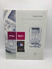 Delphi MyFi Xm2go Personal Xm Satellite Radio Sa10113-11P1 W/ Box & Accessories