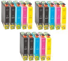 15 Cartucho NonOem para Epson wf2010w wf2630wf wf2650dwf wf2660dwf set impresora