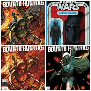 Star Wars Bounty Hunters Alpha #1 Cover A B C D Variant Set Options Presale 5/5