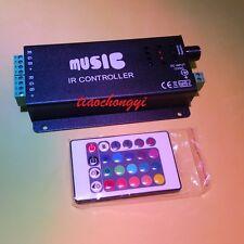 Music Remote Controller Sound Sensitive for LED 5050/3528 RGB Led Strip Light