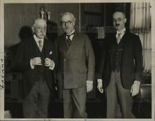 1933 Press Photo New York J Ramsay MacDonald at Council of Foreign Relations NYC