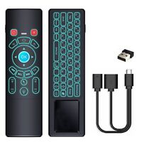 Backlit Mini Keyboard Air Mouse w/ OTG Cable for Amazon FIRE TV Stick,Chromecast