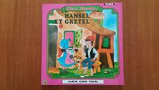 Album Disque Audio Visuel « Hansel Et Gretel» Collection Alors, Raconte TBE