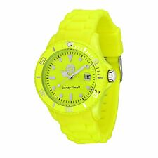MADISON NEW YORK Unisex Watch Candy Time® for FC Bayern München Neon Yellow