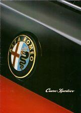 Alfa Romeo 1994 UK Market Sales Brochure 145 155 164