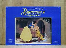 BIANCANEVE E I SETTE NANI fotobusta poster affiche Walt Disney Seven Dwarfs AM27