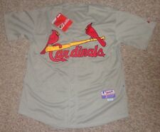 GL195 Majestic Performance Apparel St. Louis Cardinals Baseball Jersey 50 #4 NWT