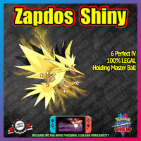 Shiny ZAPDOS | Crown of Tundra | 100% Legal | 6IV |  Pokemon Sword Shield