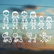 Family Members Characters,Vinyl Car Stickers,Decals,Self Adhesive,Graphics