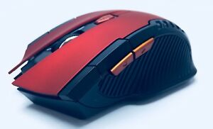 6D Wireless Gamming Mouse 2.4GHz,Red/Black, 6 buttons ,Wirelless Optical Mouse