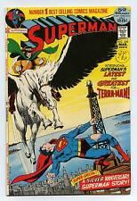 Superman #249 - Neil Adams - 1st App Terra-Man - DC - BRONZE AGE - 1972 - VFN+