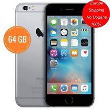 Ricondizionato iPhone 6 64GB Grigio Siderale Grado A+12 MESI GARANZIA+ACCESSORI