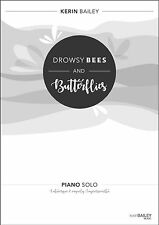 Drowsy Bees and Butterflies Piano Solo Sheet Music Kerin Bailey