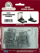 Wills SS91 - Lever/Ground Frames 00 Gauge = 1/76th Plastic Kit - 1st Class Post