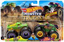 Hot Wheels Monster Trucks 2-pack Scorcher VS 32 Degrees Fyj67