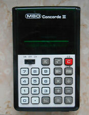 MBO SP 96  SOLAR TASCHENRECHNER CALCULATOR ANLEITUNG OVP