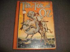 Tik-Tok of Oz by L. Frank Baum Illustrated by John R. Neill 1914 Hard Cover