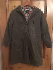 Mini Boden Khaki green Coat size 11-12 year