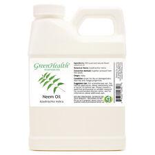 16 fl oz Neem Essential Oil (100% Pure & Natural) Plastic Jug