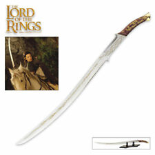 Lotr Lord Rings Hadhafang Sword Blade Princess Lady Elven Arwen Scabbard New