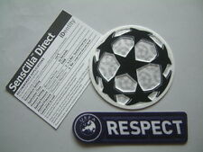 """SET ufficiale Sid SENSCILIA """"CHAMPIONS LEAGUE+RESPECT"""" PATCH 2009-2011 official"""