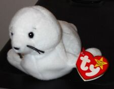 NMT* Ty Beanie Baby ~ SEAMORE the White Seal ~ MINT with NEAR MINT TAG ~ RETIRED