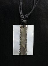 Collier ethnique avec pendentif nacre - Bijoux fantaisie pas cher -BB582