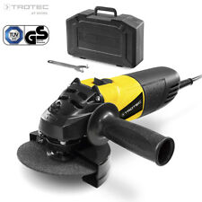 TROTEC Amoladora angular PAGS 10-115 | Lijadora Herramienta | Disco 115 mm 500 W