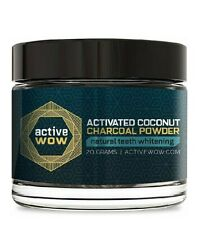 Active Wow Teeth Whitening Charcoal Powder Natural blanqueador dental polvo