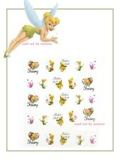 Disney Fairy Tinkerbell Nail Art Design Decals Water Transfers Stickers #1803