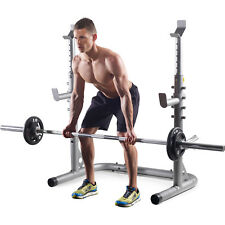 Weight Set Bench Press Squat Barbell Lifting Gold's Gym Olympic Workout Gym Rack