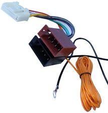 Adaptateur faisceau Câble Fiche ISO autoradio pour Opel Vivaro Renault Trafic