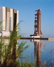 Apollo 17 Saturn V rocket leaves Vehicle Assembly Building NASA New 8x10 Photo