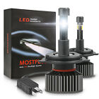 MOSTPLUS 130W 13000LM 4 Sides LED Headlight H4 9003 High/Low Beams 6000K Bulbs