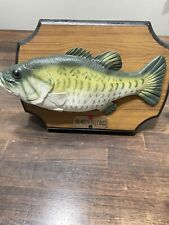 New listing Big Mouth Billy Bass Singing Fish 1999 Gemmy Industries Hilarious Free PowerPlug