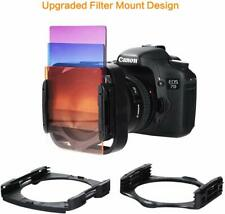 K&F Concept 40 in 1 Square ND Lens Filter Kit Set Compatible with Cokin P Series