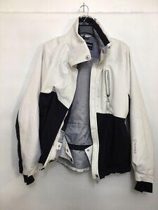 Sunice Women's Sz 8 Waterproof Ski Jacket Winter Coat Black White  Flaws