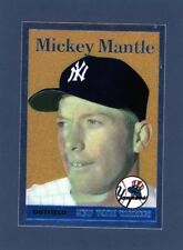 1996 Mickey Mantle Finest Commemorative Card #7                   A127