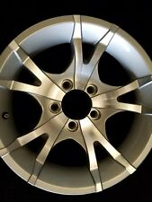 15X6 ALUMINUM 5 SPLIT STAR TRAILER /RV WHEEL 5x4.5 TRAILER CITY DIRECT  T07
