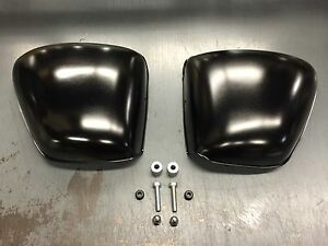 TRIUMPH MOTORCYCLE AIR BOX ELIMINATION  SIDE COVER  KIT OIL IN FRAME 71 AND UP