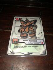 2001 Gundam MS War Trading Card Game WMS-03 Maganac #MS-007 Vulcan Cannon