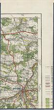 PL Lauban Waldau Schreibersdorf 1928 Teilkarte/Ln. Lubań Pisarzowice Wycroty