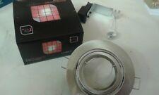 8x NEW Red Arrow TILT Downlight For 12V Low Voltage MR16 Lamps DLGS:SATIN CHROME