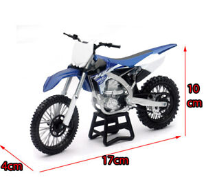 Blue Yamaha YZ-450F 1:12 Dirt Kids Bike Motocross Motorbike Motorcycles Toy Car